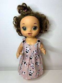 Vestido para Baby Alive (0114)