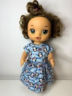 Vestido para Baby Alive (0116)