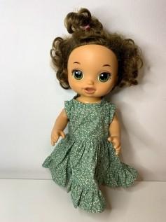 Vestido para Baby Alive (0118)