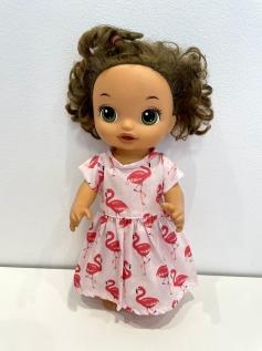 Vestido para Baby Alive (0125)