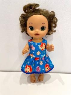 Vestido para Baby Alive (0126)
