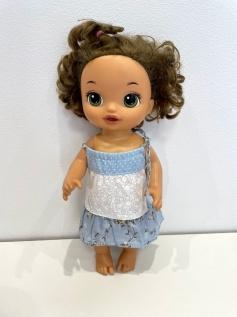 Vestido para Baby Alive (0129)