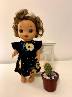 Vestido para Baby Alive (0029)