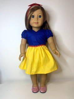 Vestido Princesa para American Girl ou Our Generation (0004)