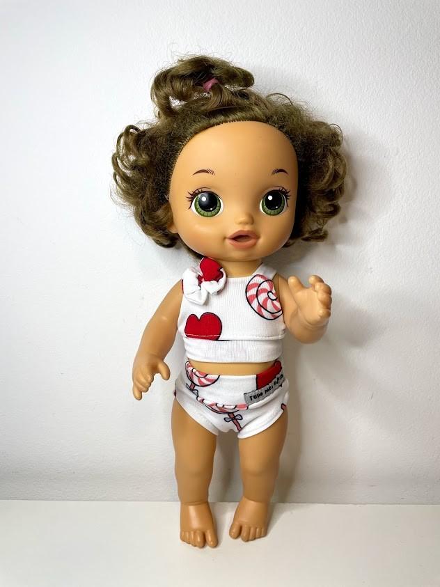 Biquini para Baby Alive (0010)