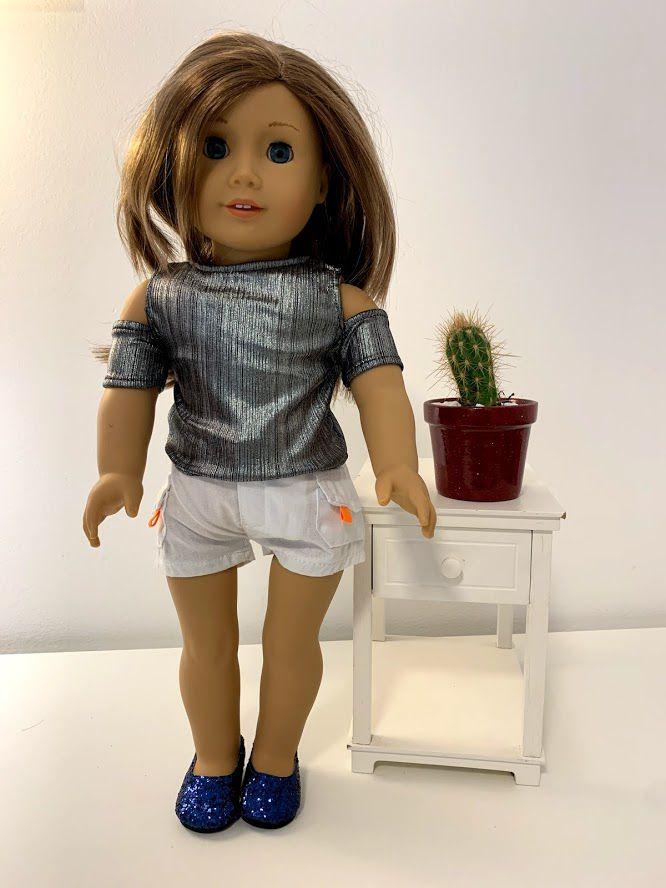 Blusa para American Girl ou Our Generation (0019)