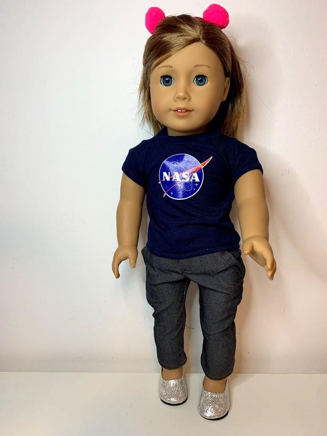 Blusa para American Girl ou Our Generation (0020)