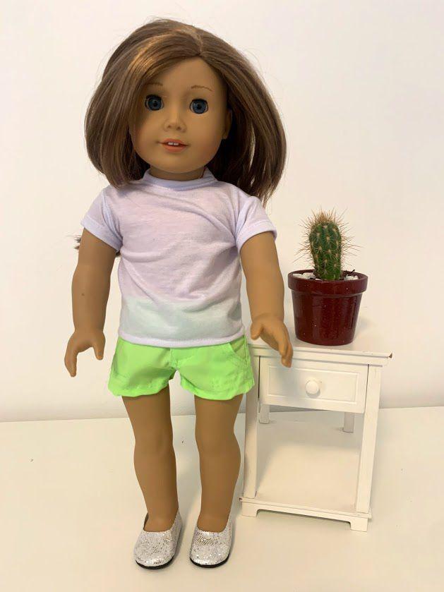 Blusa para American Girl ou Our Generation (0034)