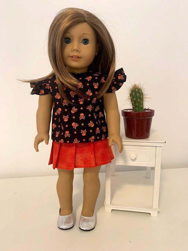 Blusa para American Girl ou Our Generation (0035)
