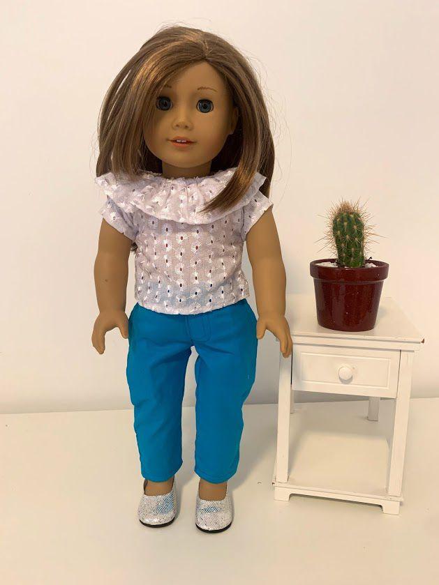 Blusa para American Girl ou Our Generation (0042)