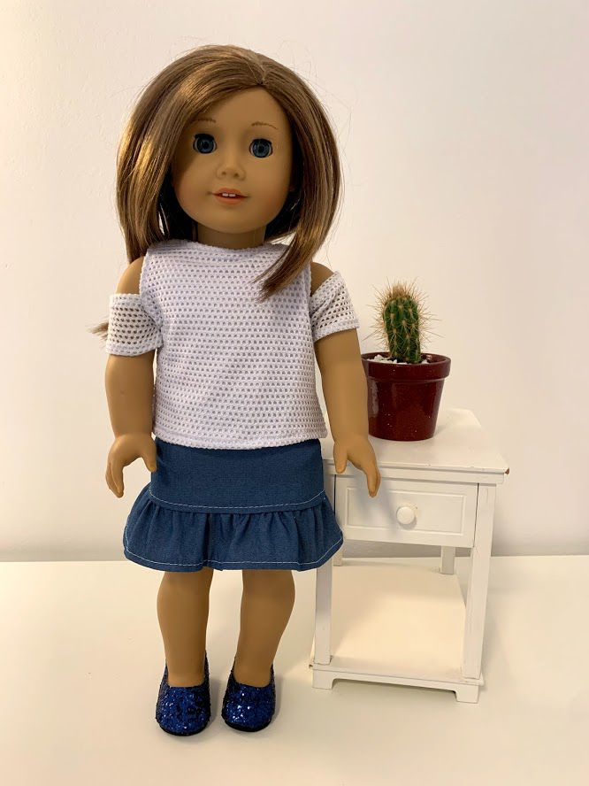 Blusa para American Girl ou Our Generation (0050)