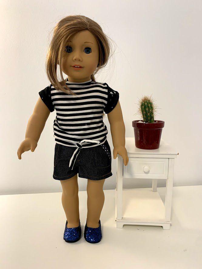 Blusa para American Girl ou Our Generation (0052)