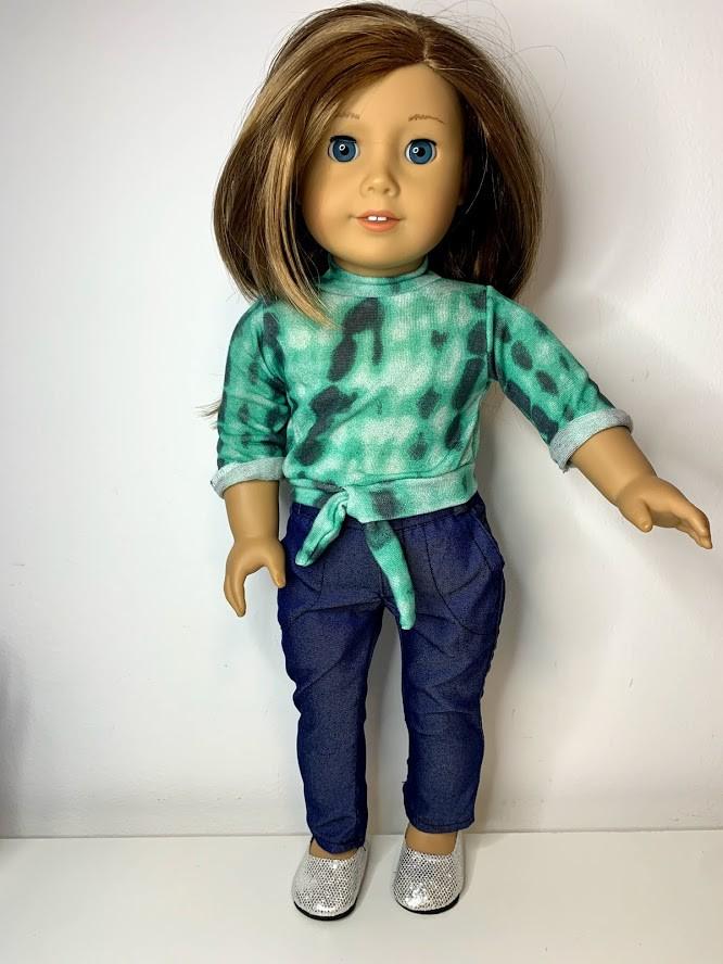 Blusa Tie Dye para American Girl ou Our Generation (0001)