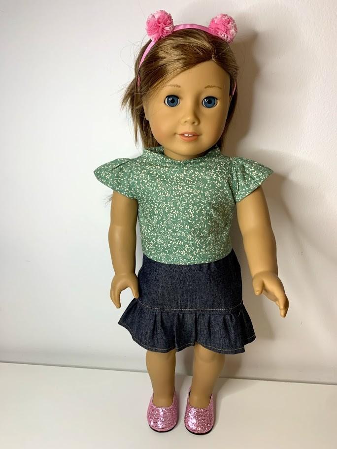 Blusa para American Girl ou Our Generation (0204)