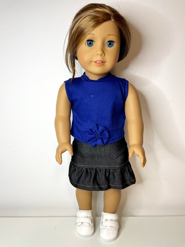 Blusa para American Girl ou Our Generation (0218)