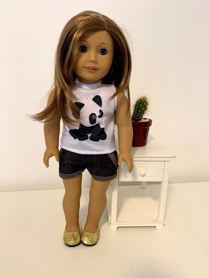 Blusa para American Girl ou Our Generation (0004)