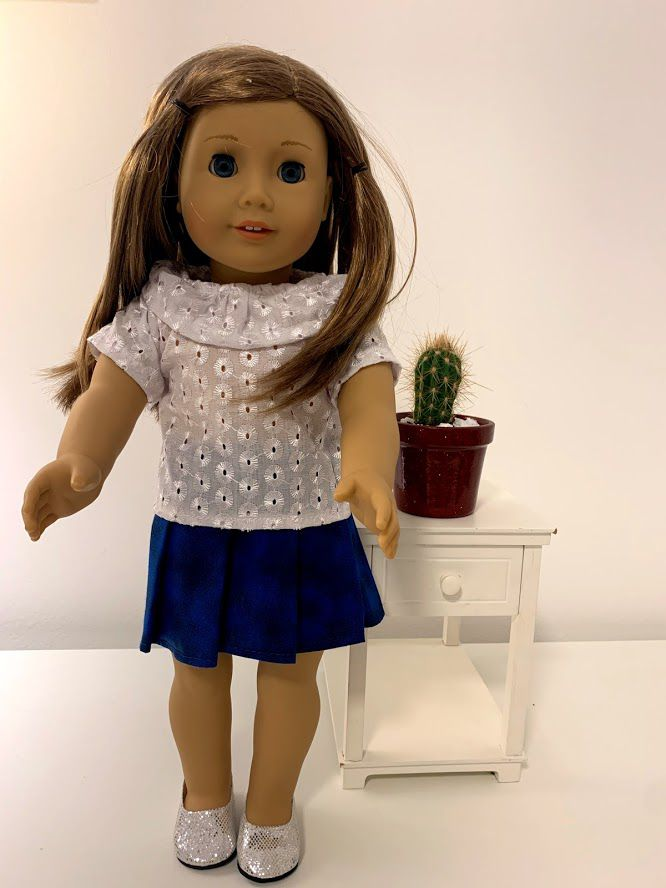 Blusa para American Girl ou Our Generation (0014)