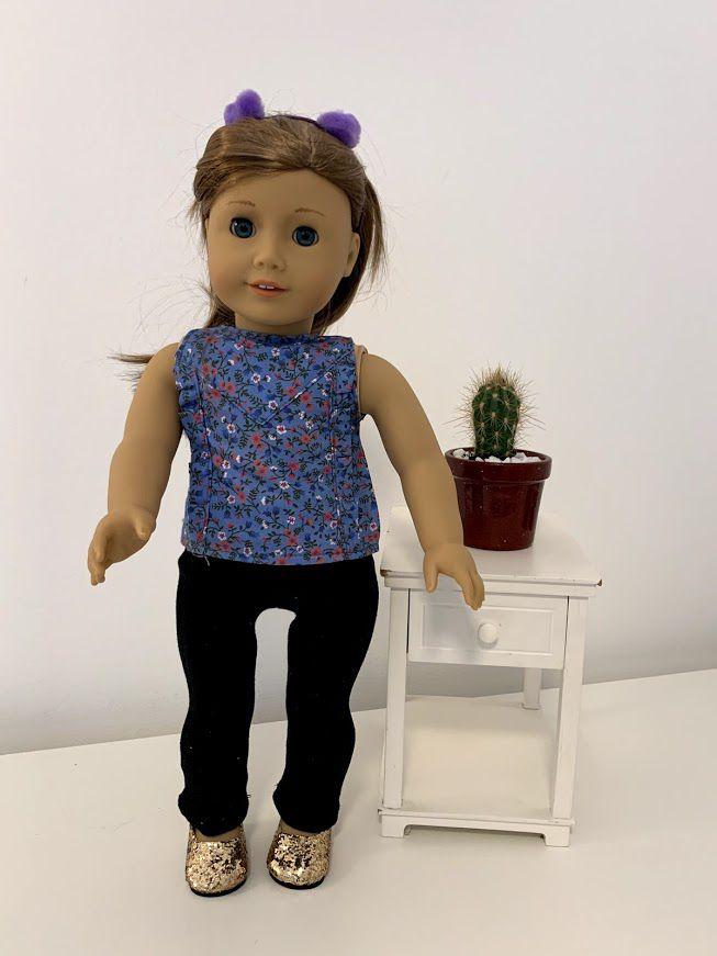 Blusa para American Girl ou Our Generation (0023)