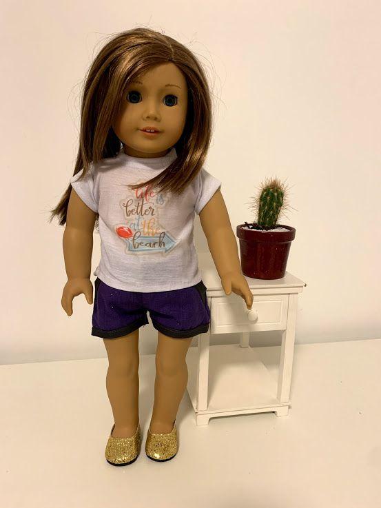 Blusa para American Girl ou Our Generation (0029)