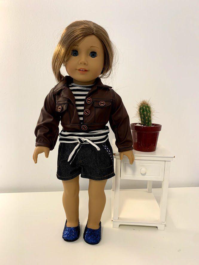 Casaco/Jaqueta para American Girl ou Our Generation (0003)
