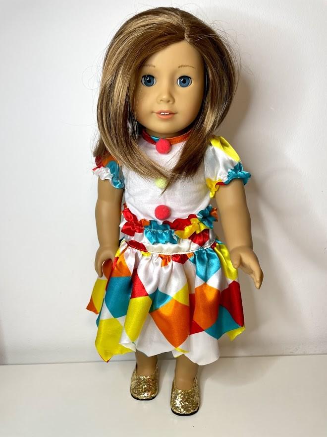 Fantasia de Carnaval American Girl ou Our Generation (0001)