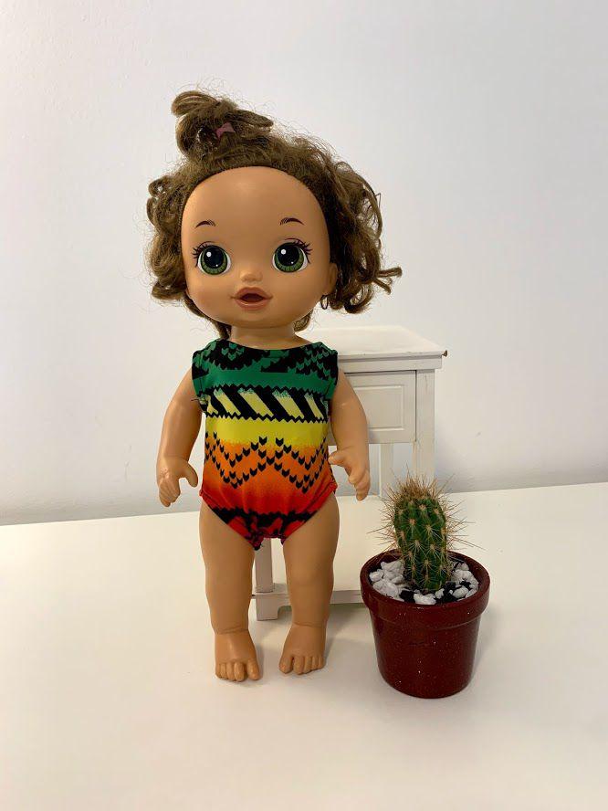 Maiô para Baby Alive (0005)