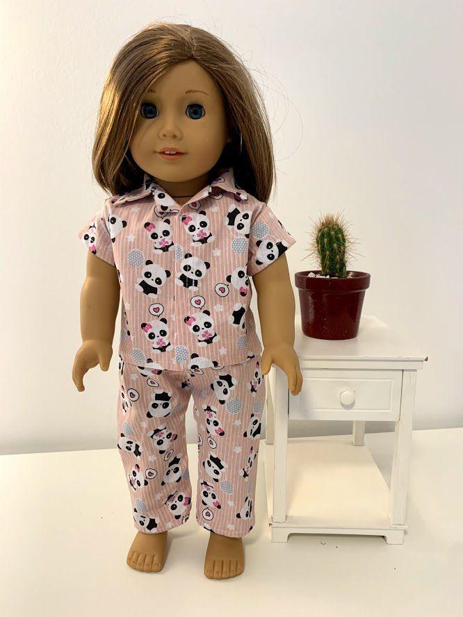 Pijama para American Girl ou Our Generation (0013)