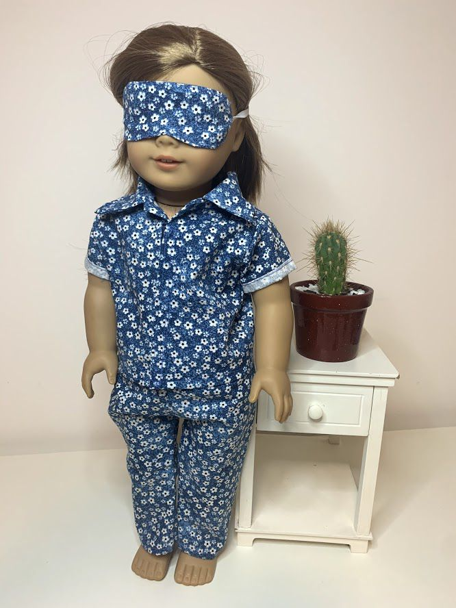 Pijama para American Girl ou Our Generation (0020)