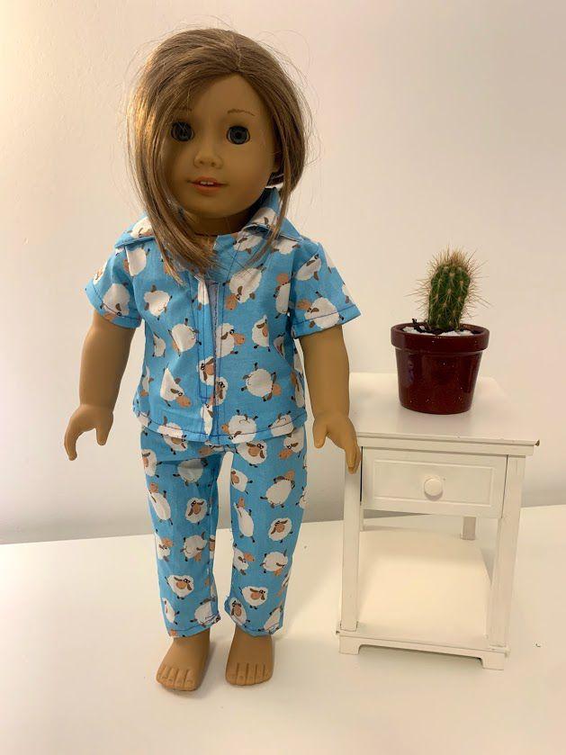 Pijama para American Girl ou Our Generation (0005)