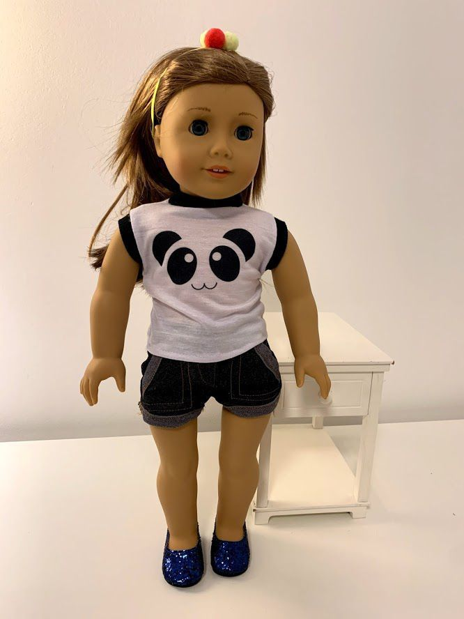 Sapato para American Girl ou Our Generation  (0004)