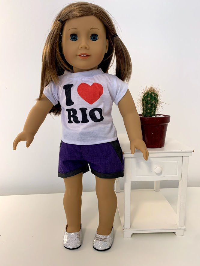 Short para American Girl ou Our Generation (0015)
