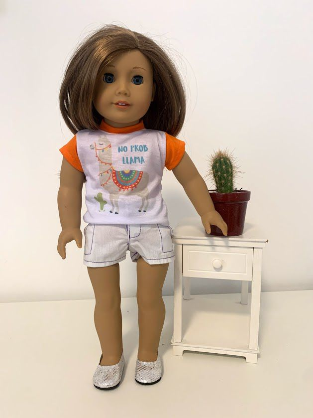 Short para American Girl ou Our Generation (0024)