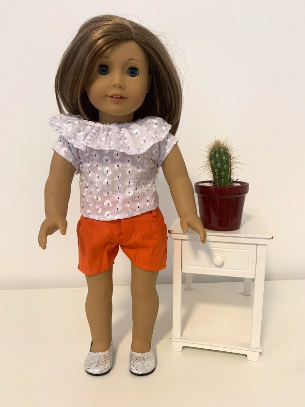 Short para American Girl ou Our Generation (0029)