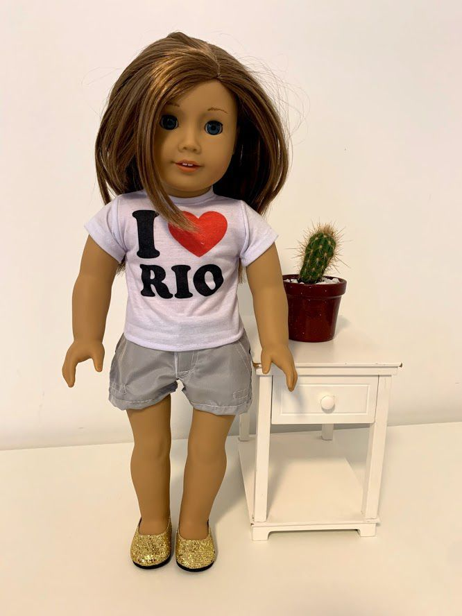 Short para American Girl ou Our Generation (0008)