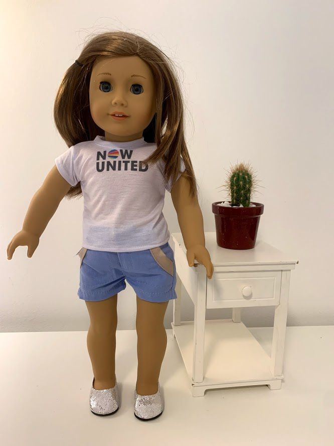 Short para American Girl ou Our Generation (0010)