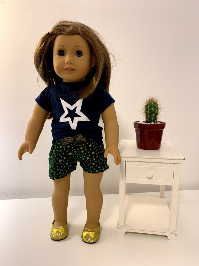 Short para American Girl ou Our Generation (0011)