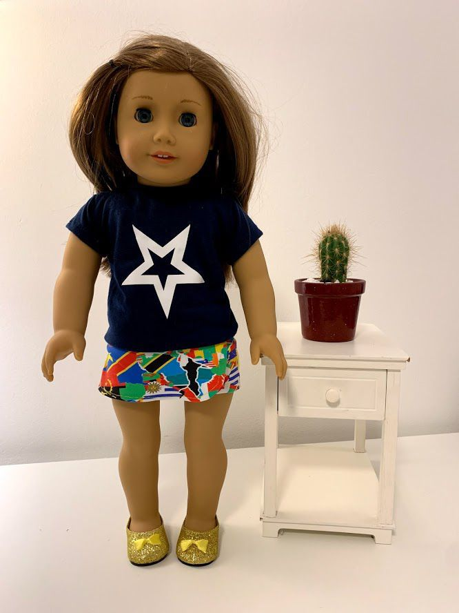 Short para American Girl ou Our Generation (0012)