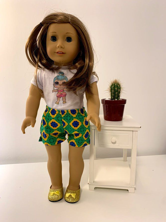 Short para American Girl ou Our Generation (0014)