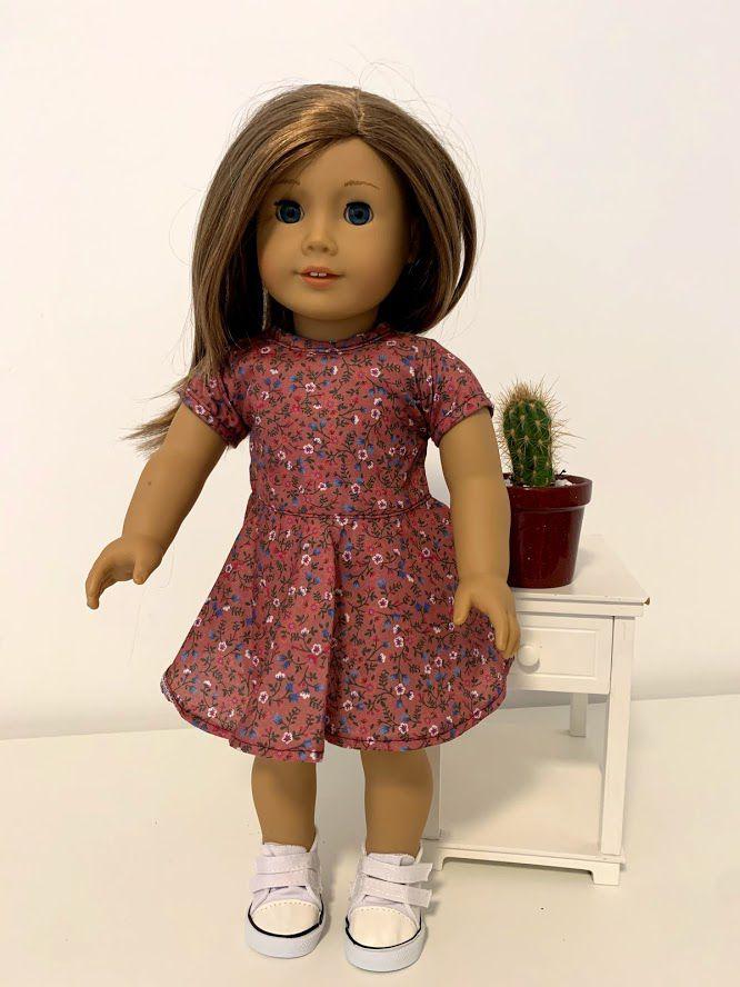 Vestido para American Girl ou Our Generation (0046)