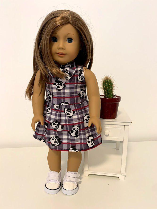 Vestido para American Girl ou Our Generation (0047)