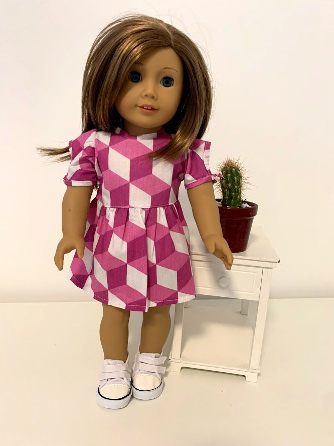 Vestido para American Girl ou Our Generation (0049)