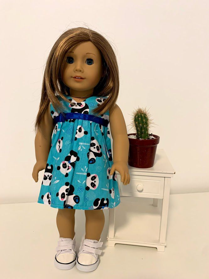 Vestido para American Girl ou Our Generation (0054)