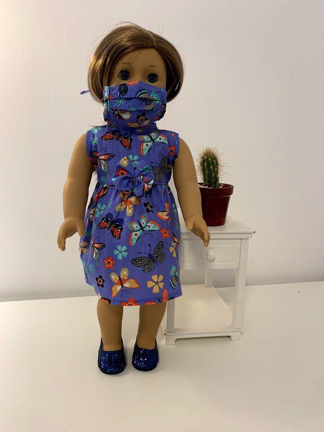 Vestido para American Girl ou Our Generation (0067)