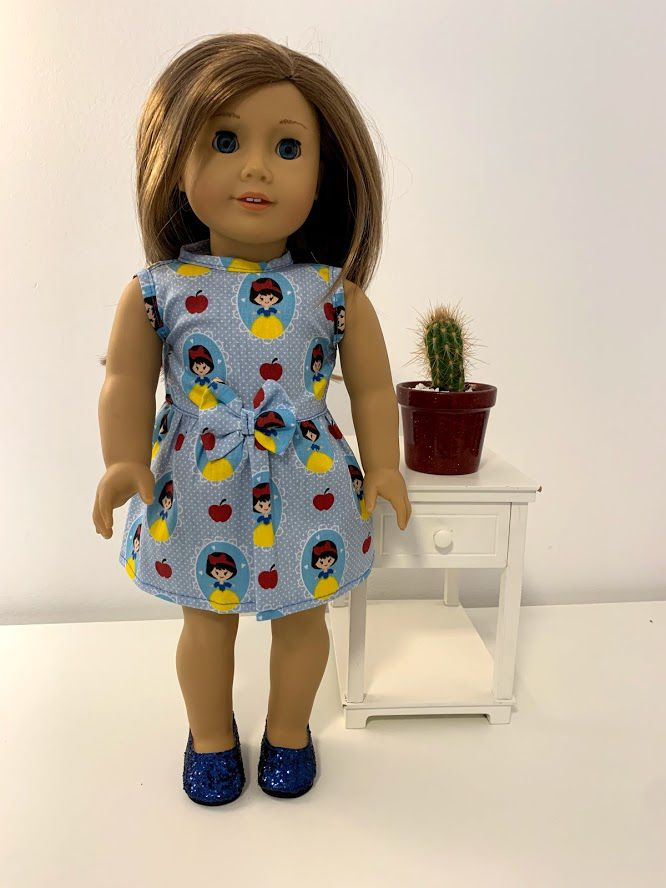 Vestido para American Girl ou Our Generation (0070)