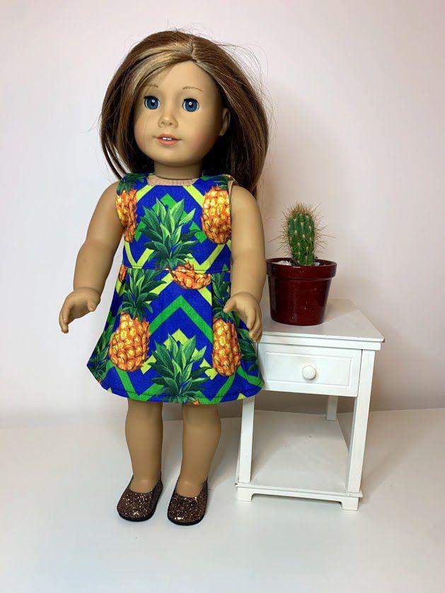 Vestido para American Girl ou Our Generation (0082)