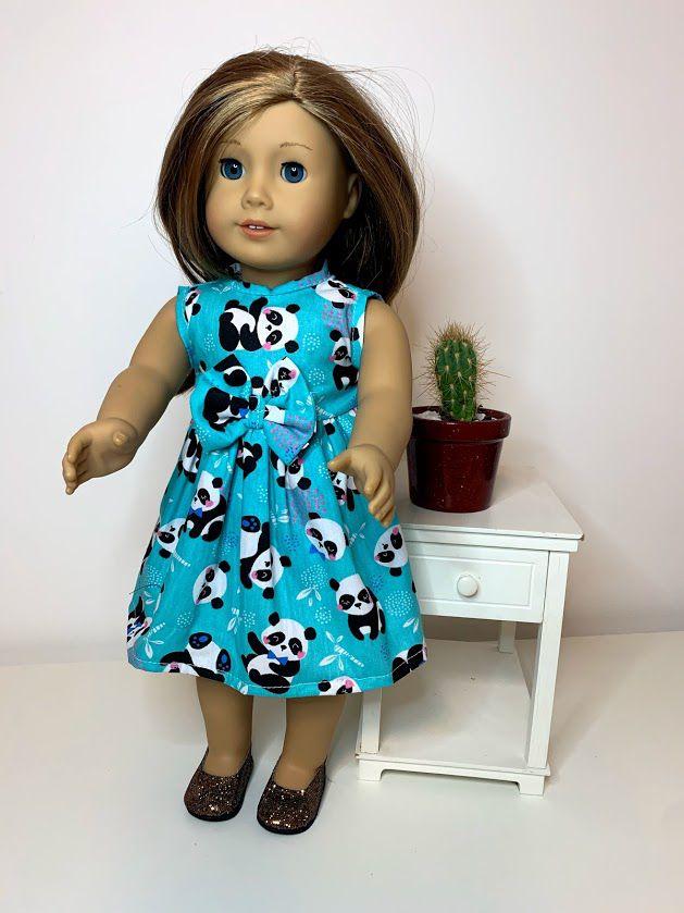 Vestido para American Girl ou Our Generation (0084)
