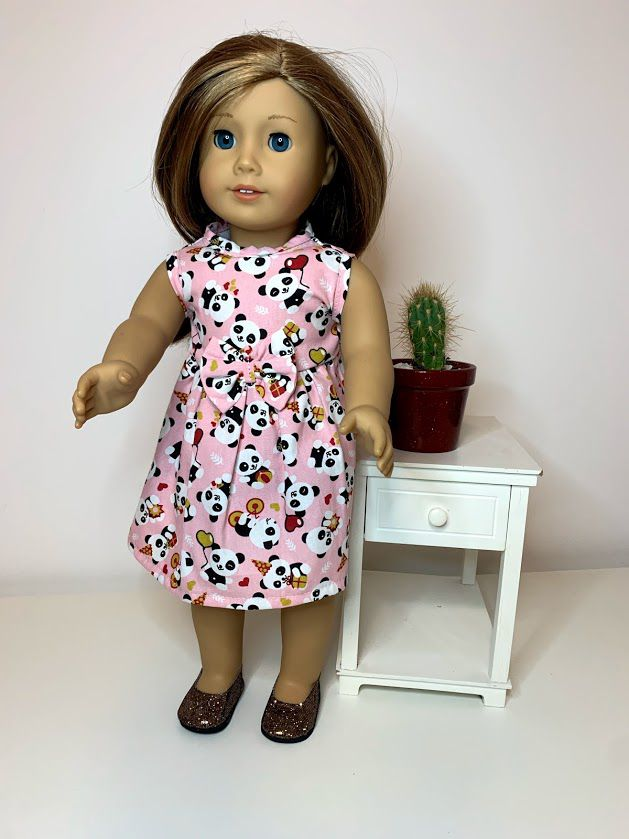 Vestido para American Girl ou Our Generation (0085)