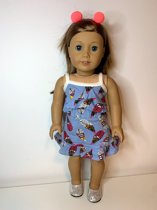 Vestido para American Girl ou Our Generation (0093)