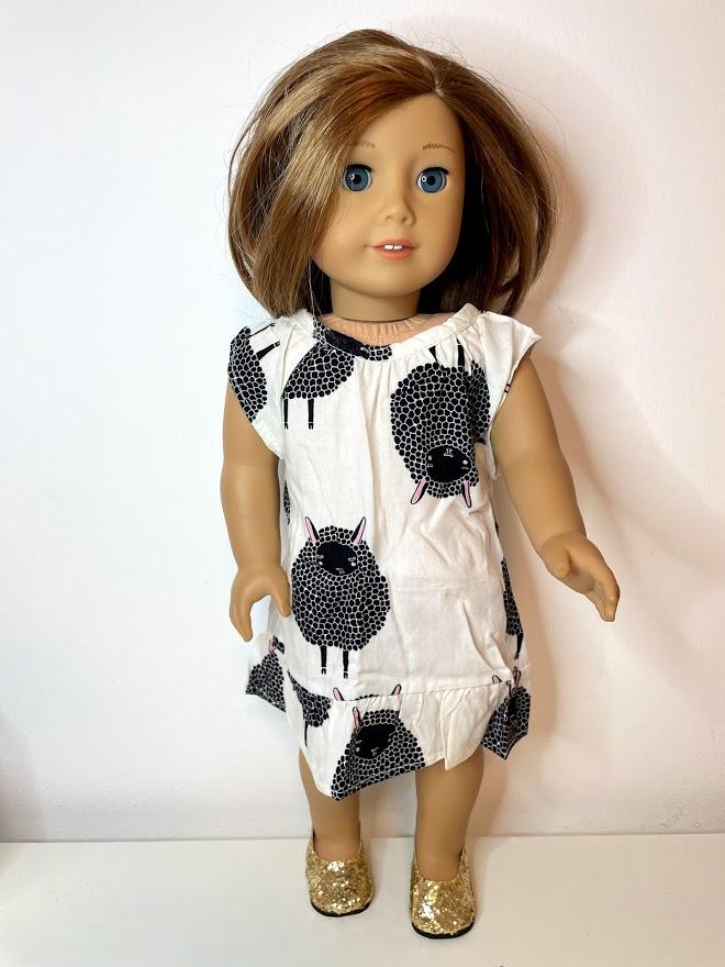 Vestido para American Girl ou Our Generation (0180)