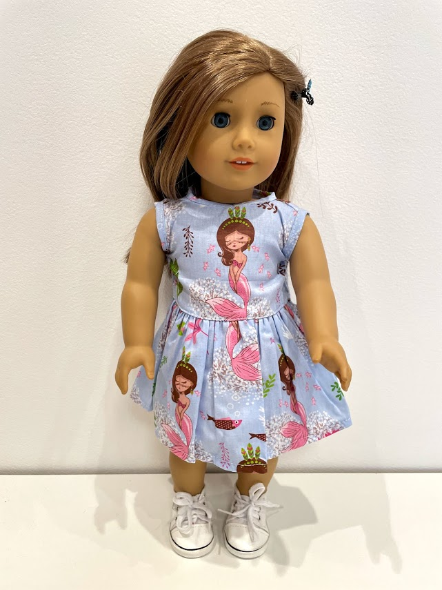 Vestido para American Girl ou Our Generation (0252)